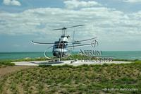 Helicopter Photo, Old Belize Heliport