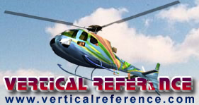 Vertical Reference helicopter logo